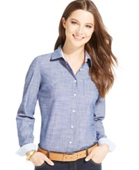 Tommy Hilfiger Chambray Button Down Shirt