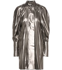 Ellery Witch Doctor High Neck Dress Silver