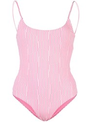 Onia Gabriella Two Tone Swimsuit 60