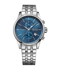 Hugo Boss Stainless Steel Two Eye Flyback Chronograph 1513384 Silver