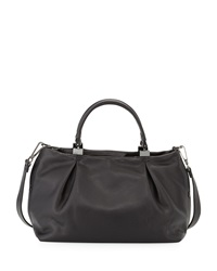 Kooba Loretta Leather Satchel Bag Black