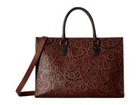 Scully Chantelle Tote Tan Brown Tote Handbags