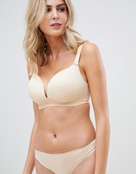 c757f8a9d5 Deco Fuller Bust Moulded Soft Cup Bra In Beige