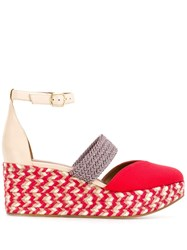 Malone Souliers Sasha Espadrilles Red