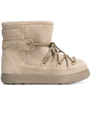 Moncler 'New Fanny' Boots Nude And Neutrals
