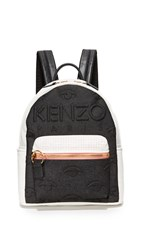 Kenzo Neoprene Backpack Black