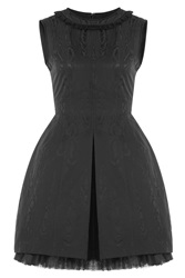 Marc By Marc Jacobs Jacquard Dress Black