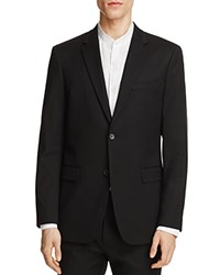 Theory Wellar Tailored Textured Slim Fit Suit Separate Sport Coat 100 Exclusive Black