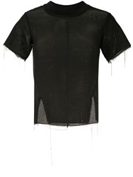 Song For The Mute Mesh Top Black