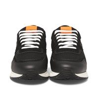 Givenchy Panelled Mesh Leather And Suede Sneakers Black