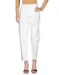 Bouchra Jarrar Casual Pants White