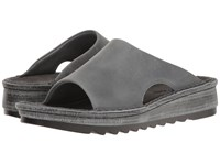 Naot Footwear Ardisia Vintage Slate Leather Women's Sandals Gray