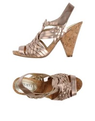 Guess By Marciano Sandals Dove Grey