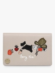 Radley Berry Nice Leather Cardholder Dove Grey