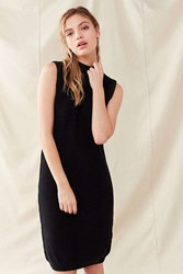 Urban Renewal Vintage Mock Neck Sweater Dress Black