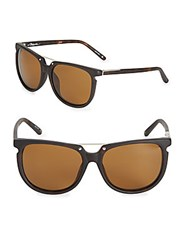 3.1 Phillip Lim Wayfarer Sunglasses Light Brown