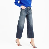 J.Crew Rayner Wide Leg Jean In Keller Wash