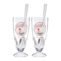 Kate Spade 'Two Scoops' Ice Cream Glasses Set Of 2