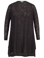 Chesca Scallop Lace Shrug Black