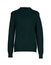 C.P. Company Sweaters Dark Green