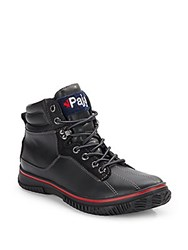 Pajar Canada Guardo Waterproof Leather Boots Black