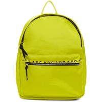 A.P.C. Yellow Marc Backpack
