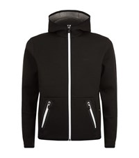 Hugo Boss Green Skeach Tech Hoodie Male Black