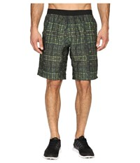 Prana Mojo Short Olive Hatch Men's Shorts