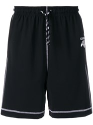 Adidas By Alexander Wang Originals Logo Track Shorts Black