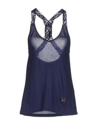 Fixdesign Atelier Tank Tops Dark Blue