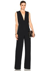 Protagonist Tailored Jumpsuit In Black
