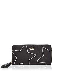 Kate Spade New York Lacey Star Wallet Black