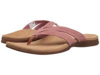 New Balance Shasta Thong Brick Women's Sandals Red