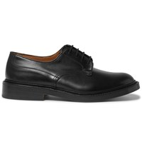 Tricker's Woodstock Leather Derby Shoes Black