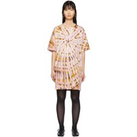 Raquel Allegra Pink Tie Dye T Shirt Dress