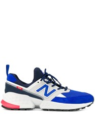 New Balance Panelled Sneakers Blue