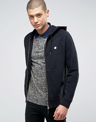 Pretty Green Sweatshirt With Logo In Slim Fit Black Black