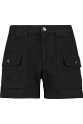 Marc By Marc Jacobs Cotton Twill Shorts Black