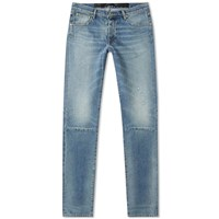 Unravel Project Repaired Skinny Jean Blue