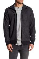 Bench Reimburse Full Zip Sweater Black