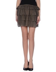 Swildens Mini Skirts Military Green