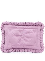 Molly Goddard Floral Embroidered Clutch Bag 60