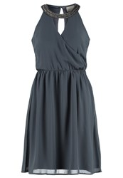 Vero Moda Vmbritta Cocktail Dress Party Dress Ombre Blue Blue Grey