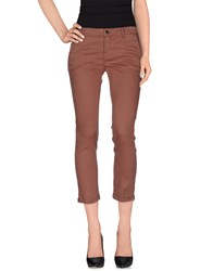 Kaos Jeans Trousers Casual Trousers Women Cocoa