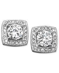 Eliot Danori Earrings Cubic Zirconia Stud 2 Ct. T.W.
