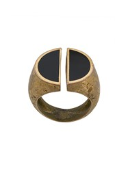 Andrea D'amico Divided Signet Ring Gold