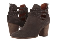 Frye Naomi Pickstitch Shootie Grey Oiled Suede Women's Boots Gray