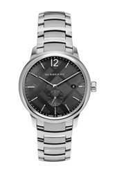 Burberry Men's Three Hand Watch Metallic