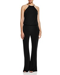 Laundry By Shelli Segal Chain Embellished Jumpsuit Black