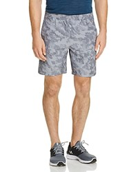 Under Armour Launch Running Shorts Steel Stealth Gray Reflective